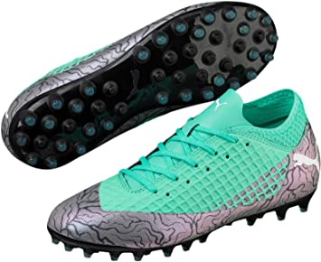 save off e95ff 27484 Puma Future 2.4 Mixed Ground Junior Football Boots - Green-5.5
