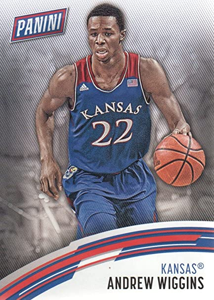 2016-17 Panini Day NBA Basketball College #6 Andrew Wiggins Kansas ...