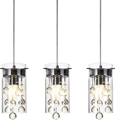 Loclgpm Modern Crystal Pendant Light