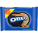 OREO Peanut Butter Creme Chocolate Sandwich Cookies, 1 - 17 oz Family Size package