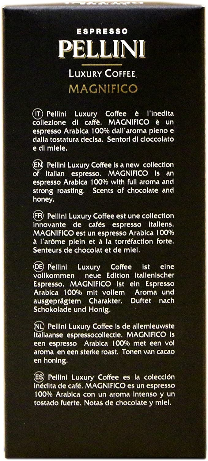 Pellini Luxury Coffee Magnifico Nespresso Compatible Capsules (Pack of 2, Total 20): Amazon.com: Grocery & Gourmet Food