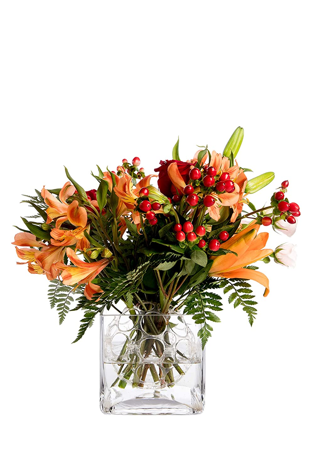 The Guppy Flower Holder Arranger for Fresh and Artificial Flower for Profesional and DIY Home Pack 9 FLora Guppy Inc