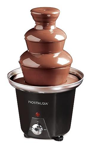 Nostalgia Cff965 24-Ounce Chocolate Fondue Fountain
