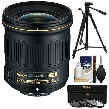 【クリックで詳細表示】Nikon 24?mm f / 1.8g af-s Ed Nikkorレンズ3?( UV / CPL / nd8?)フィルタ+三脚+キット
