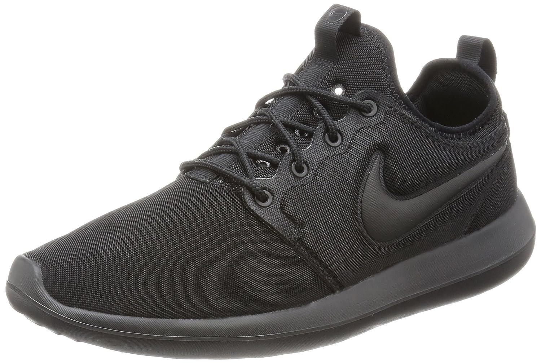 NIKE Men's Roshe Two Running Shoe B005ANV19Q 7.5 D(M) US|Black/Black
