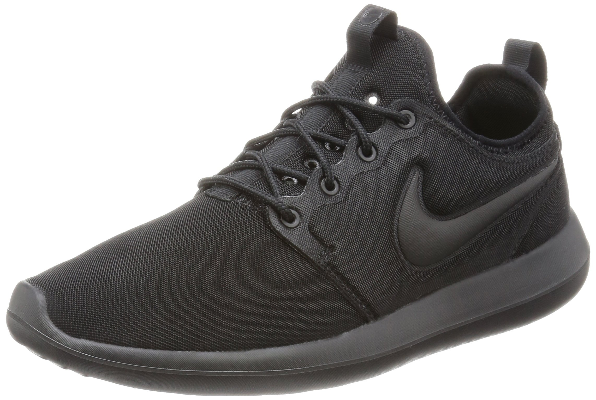 90c4c2384bed Galleon - Nike Mens Roshe Two Running Shoes Black Black 844656-001 Size 10