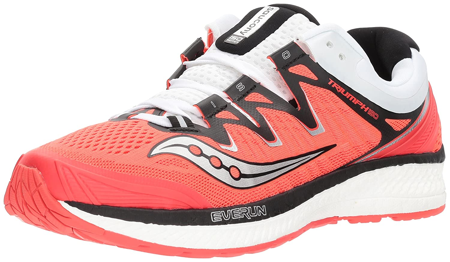 Saucony Women's Triumph Iso 4 Running Shoe B072JTVTTL 6 B(M) US|Vizi Red/White