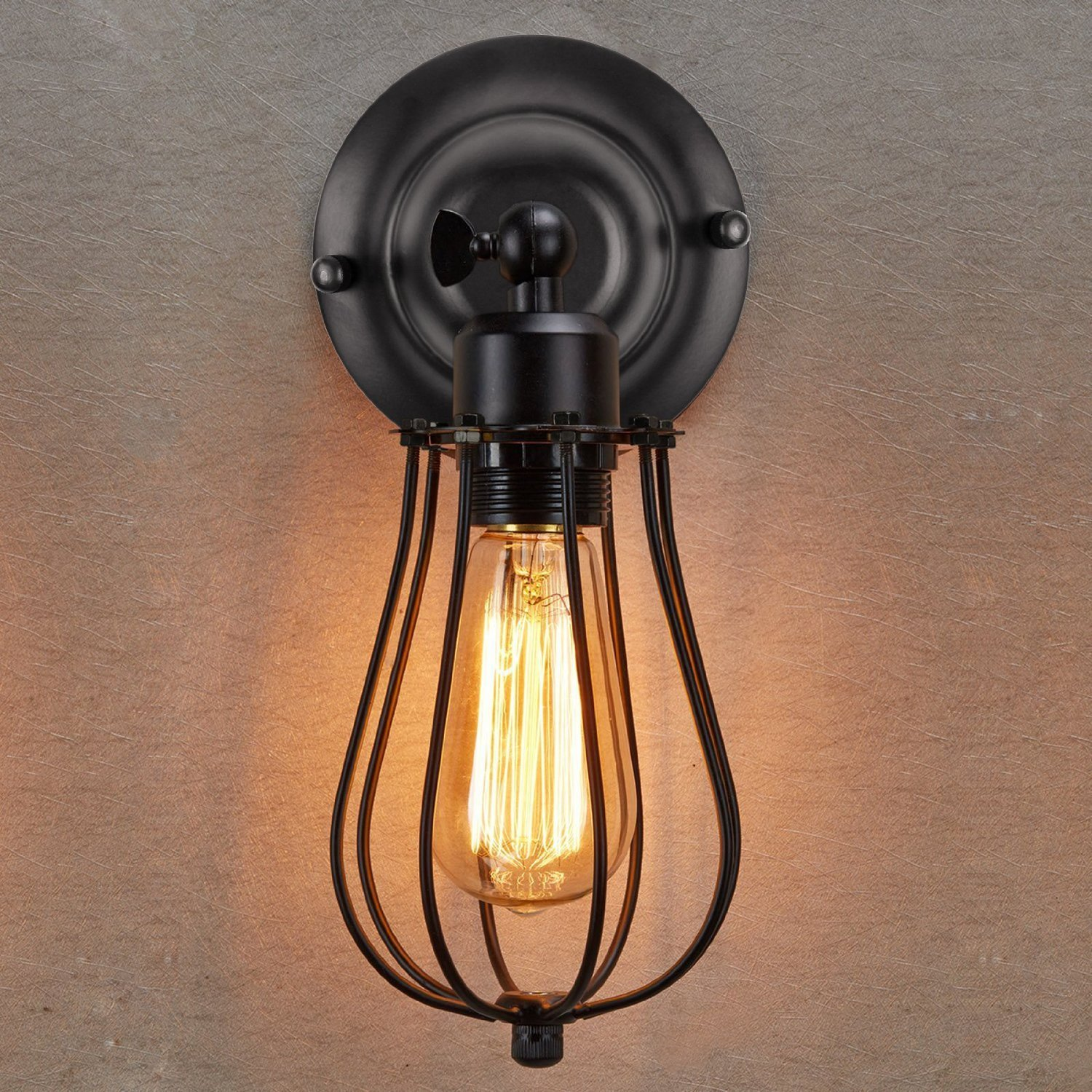 decorative supplies wall com lamp lights pipe industrial chrome lighting vintage edison sconce lightess item