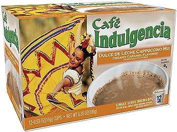 Cafe Indulgencia Dulce De Leche Cappuccino 12 Count K Cups