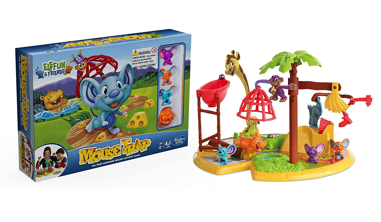 Hasbro Mousetrap Elefun And Friends Board Game Amazon Toys