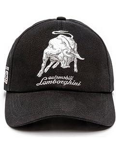 394481fc18c Automobili Lamborghini Accessories Bull LXIII Cap One Size Black at ...