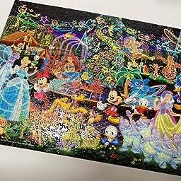 Amazon Co Jp 1000ピース ジグソーパズル ディズニーキャラクターワールド 世界最小1000ピース 29 7x42cm おもちゃ