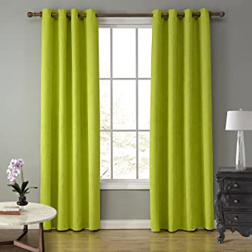 LOHASCASA Elegance Lightweight Blackout Curtains Clearance Full Length 1 Panels 52 By 84 Inch