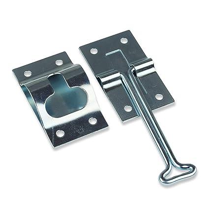 4u0026quot; Inch Metal T Style Door Holder Entry Door Catch Fits RV Trailer  Camper