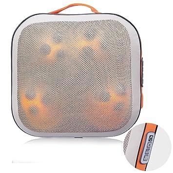 Amazon.com: Masajeador de espalda y cuello shiatsu con bolas ...