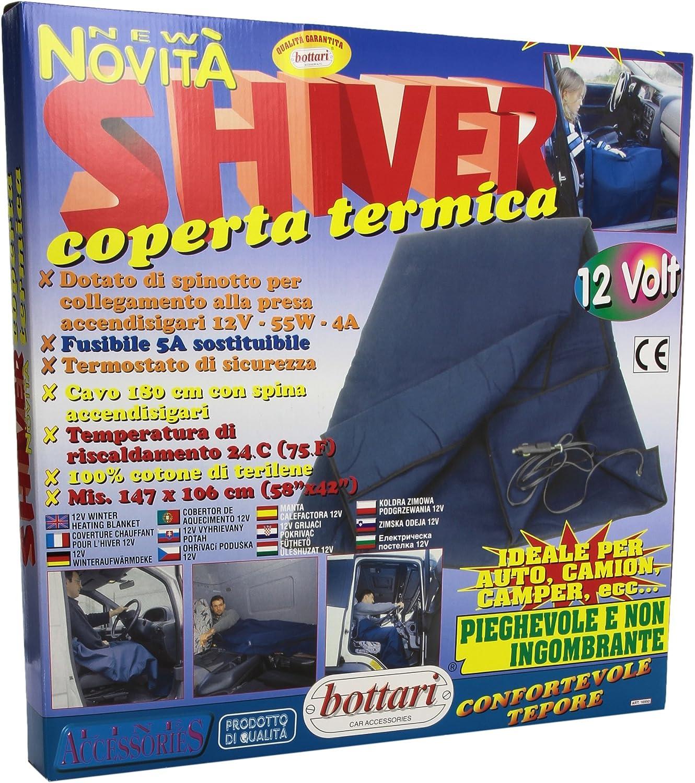 Bottari 16950 Manta Eléctrica 12 V de Corriente Continuo