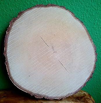 El Natural Produkte Aus Der Natur Birkenscheibe Rund Ca 30 35 Cm