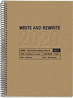 Miquelrius 34318 - Agenda 2020, Semana Vista Vertical (155 x ...