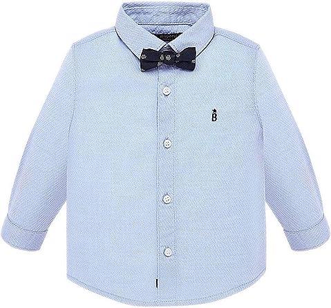 Mayoral, Camisa para bebé niño - 2111, Azul: Amazon.es: Ropa y accesorios