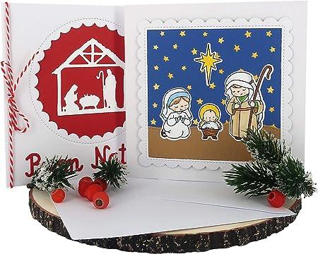 Biglietti Di Natale Fatti In Casa.Ferrari Arrighetti Biglietti Di Auguri Per Natale Fatti A Mano In Cartoncino Con Busta Confezione 2 Biglietti Amazon It Casa E Cucina