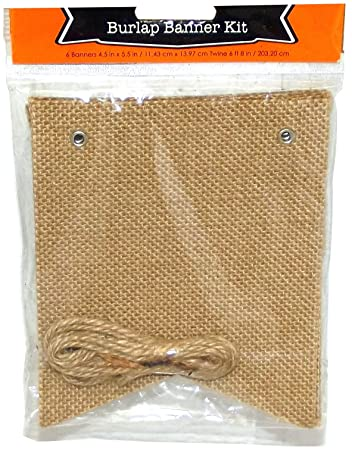 Amazon do it yourself square burlap banner kit health do it yourself square burlap banner kit solutioingenieria Image collections