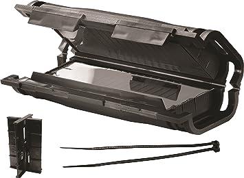 Cellpack CEL241141 - Caja de derivación (con regleta de bornes para cables de 3 x 1,5 mm a 3 x 6 mm, protección IP67): Amazon.es: Bricolaje y herramientas