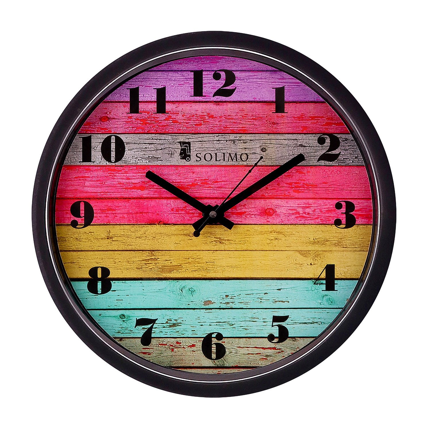 Amazon Brand - Solimo 12-inch Wall Clock