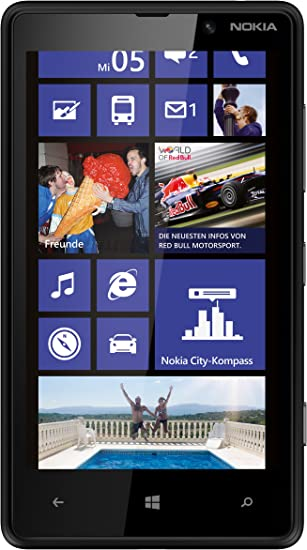 Nokia Lumia 820 - Smartphone Libre Windows Phone (Pantalla 4.3 ...