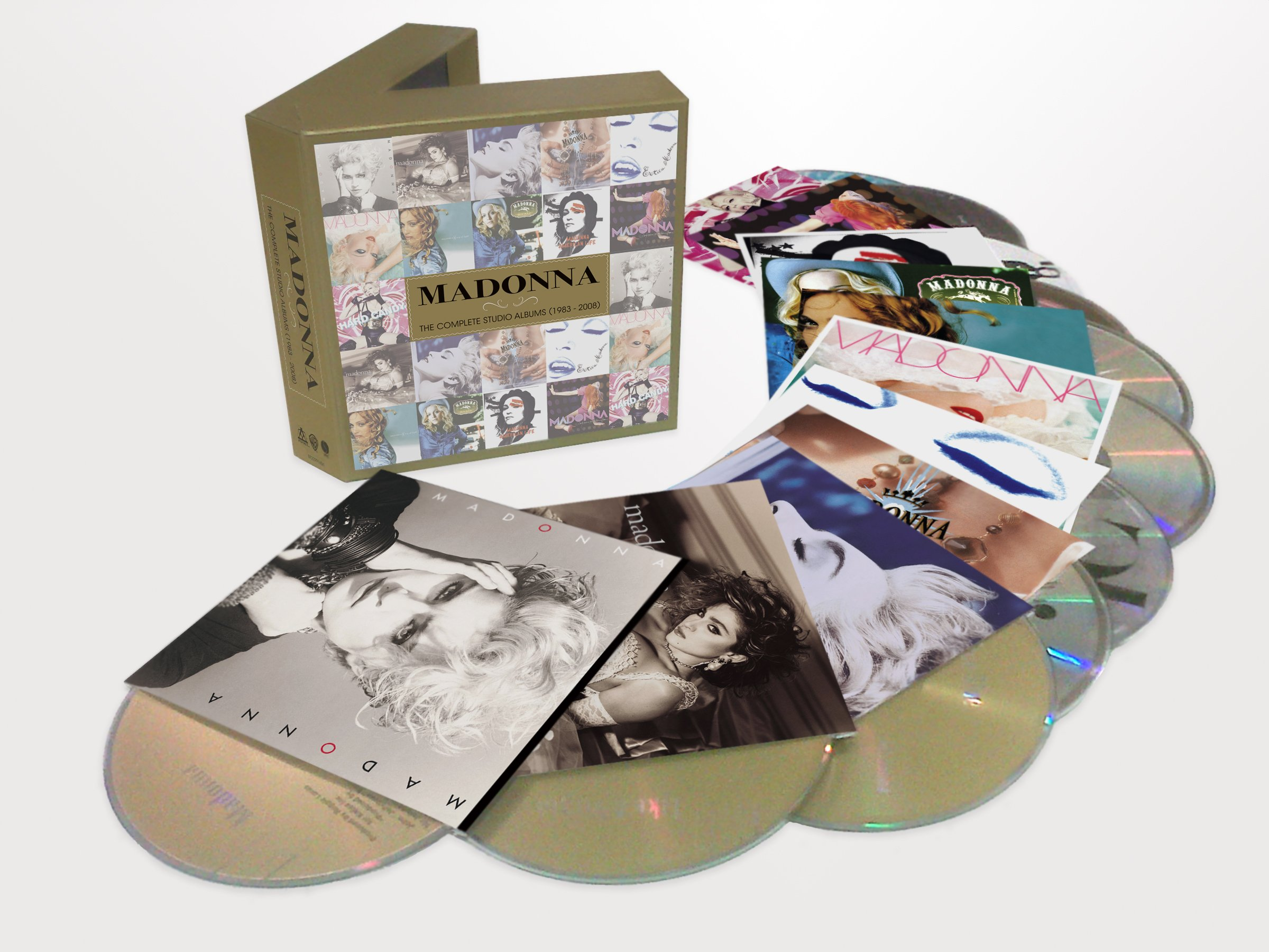 Madonna - The Complete Studio Albums 1983 - 2008 by Warner Europe