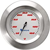 Lantelme Grillthermometer Edelstahl Modell Racing 450 Series