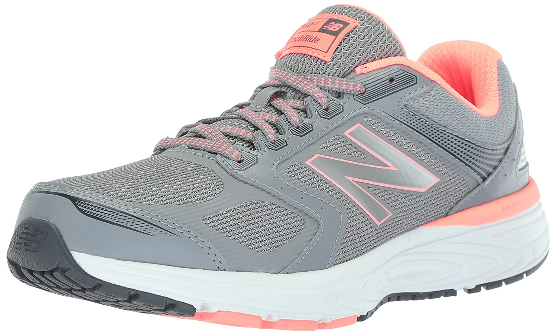 New Balance Women's W560v7 Cushioning Running Shoe B0751SXTRS 12 B(M) US Steel
