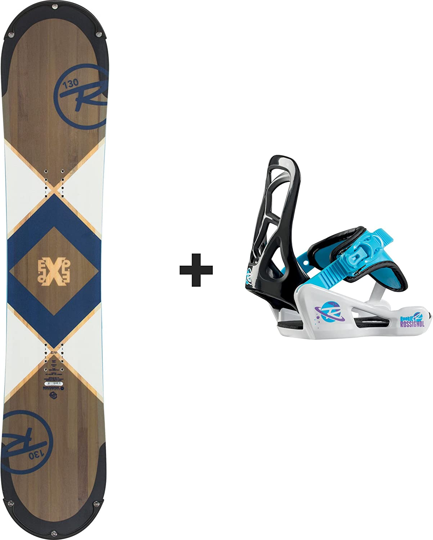 Rossignol – Pack Snowboard EXP Junior + Rookie S azul – Talla S ...