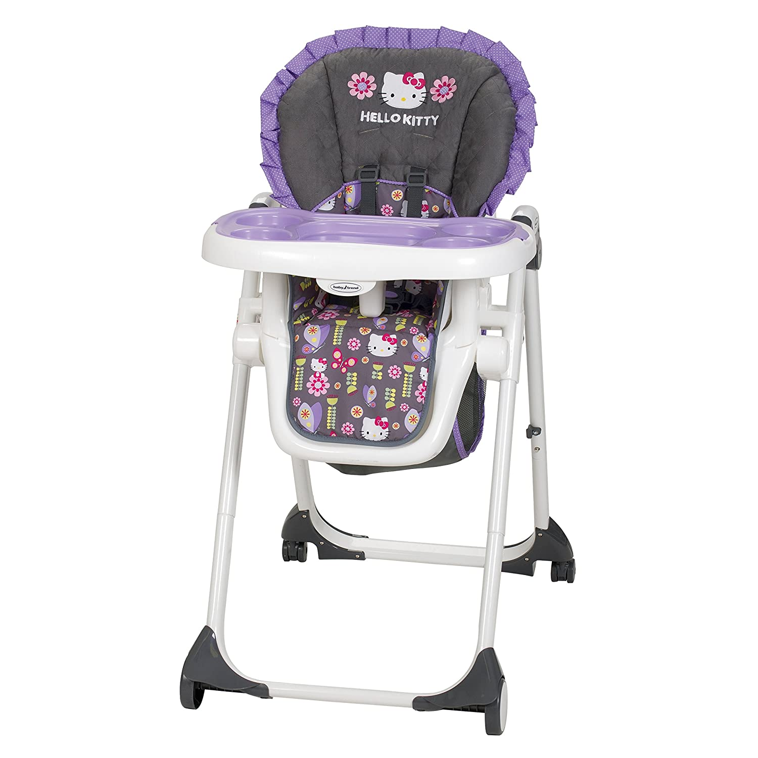 Amazon.com : Baby Trend Deluxe High Chair, Hello Kitty Flower Dance : Baby