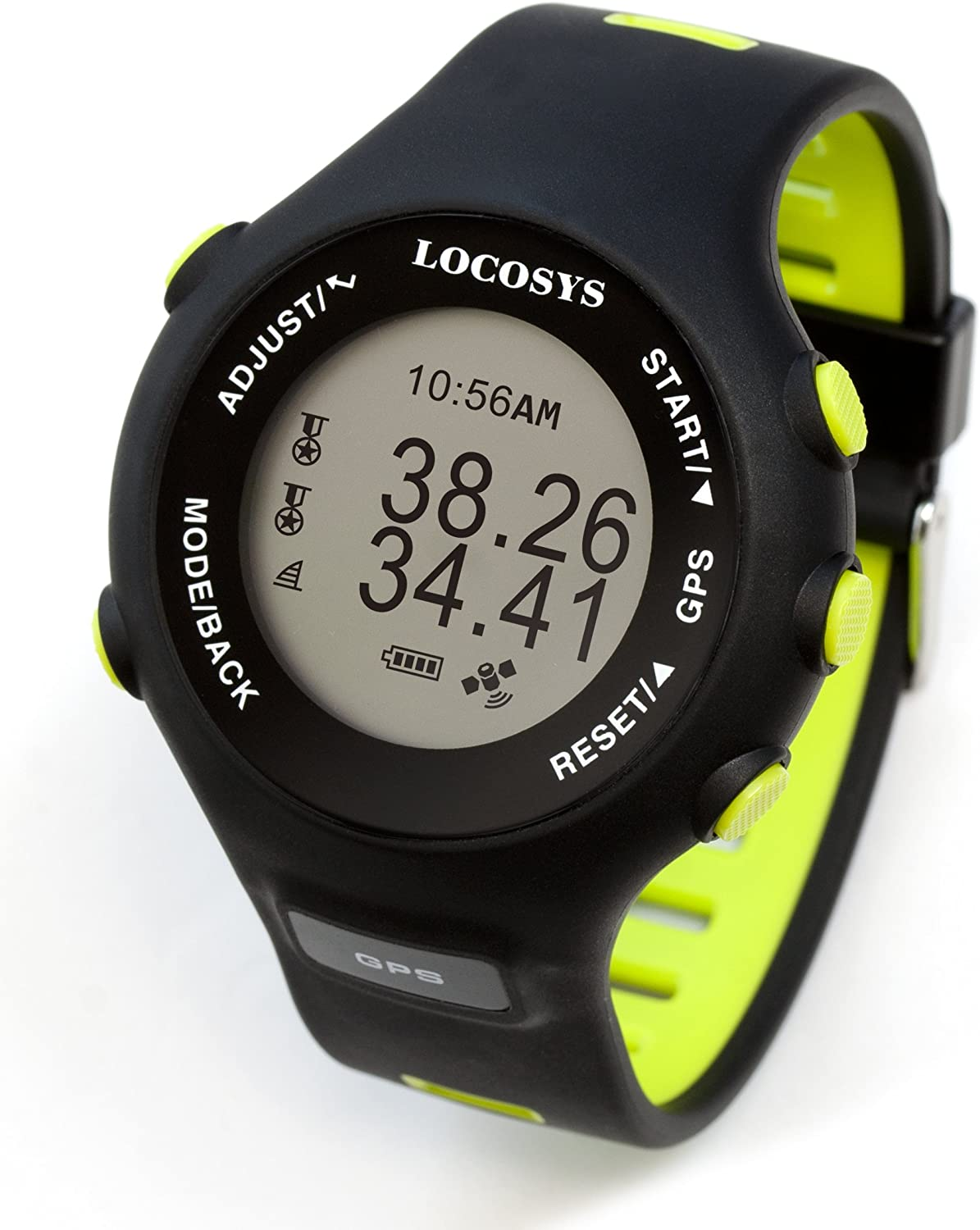 Locosys GW-60 GPS Watch (Highly Precise Speed Measurement for Windsurfing/Sailing)