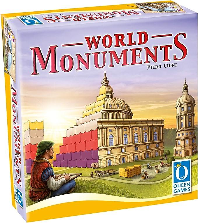 Queen Games 10260 – World Monuments: Amazon.es: Juguetes y juegos