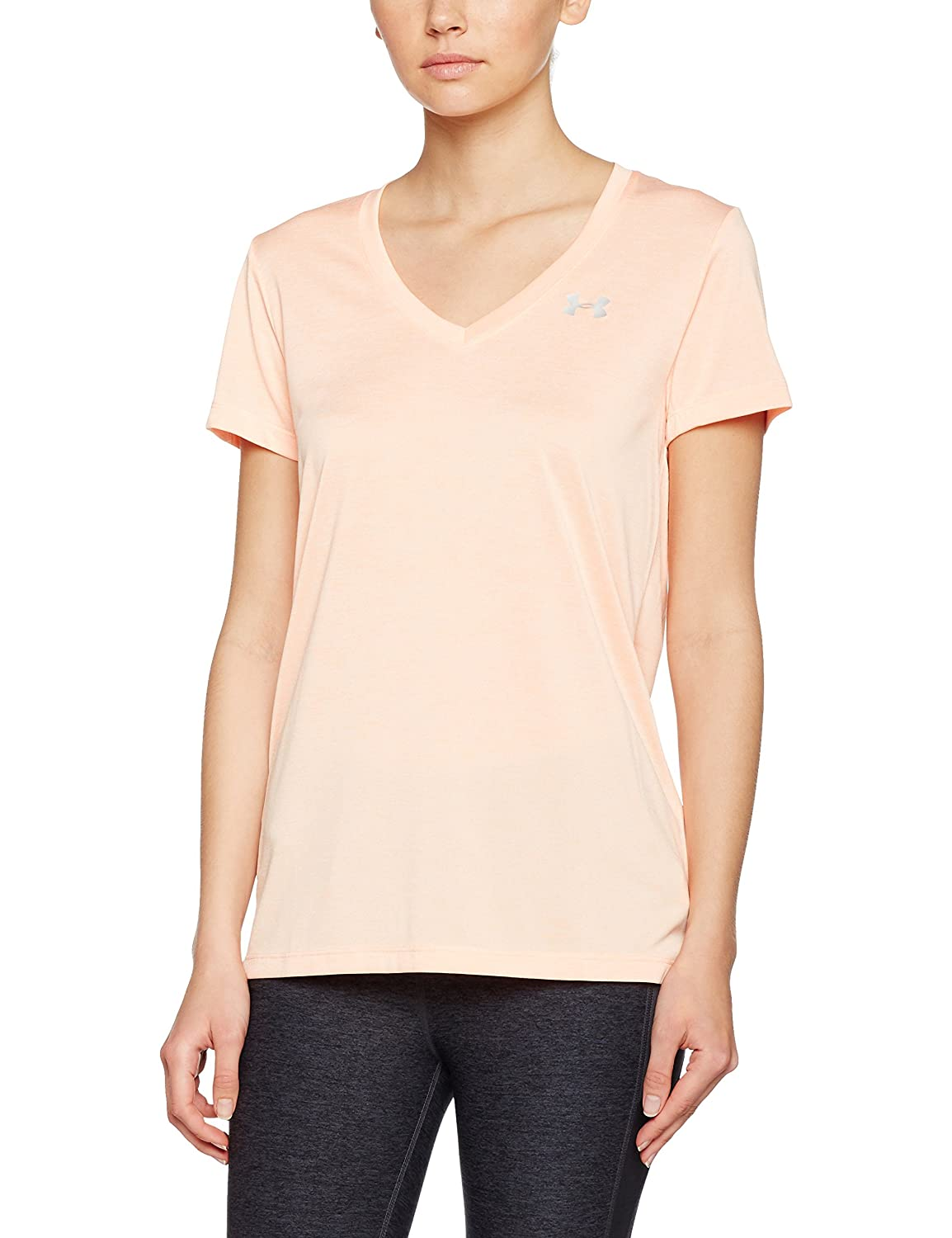 Under Armour Tech Ssv Twist Camiseta Deportiva, Mujer