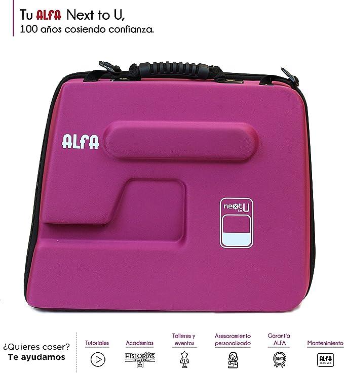 Alfa Funda para Maquina de Coser NEXTtoYOU, Morado, 38 X 22 X32 Cm: Amazon.es: Hogar