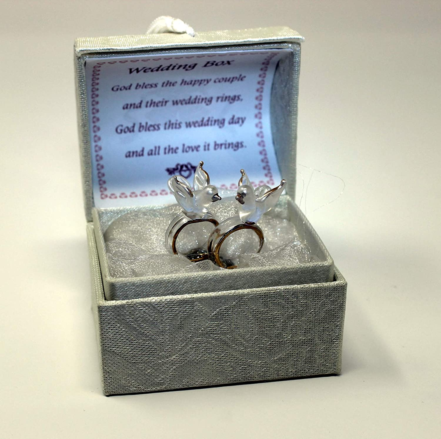 Rings And Doves Personalised Wedding Congratulations Poem