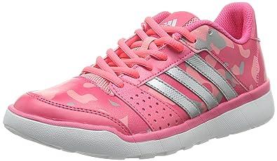 brand new 21631 07e82 adidas Essential Fun Femmes Chaussures de course-Pink-36.5