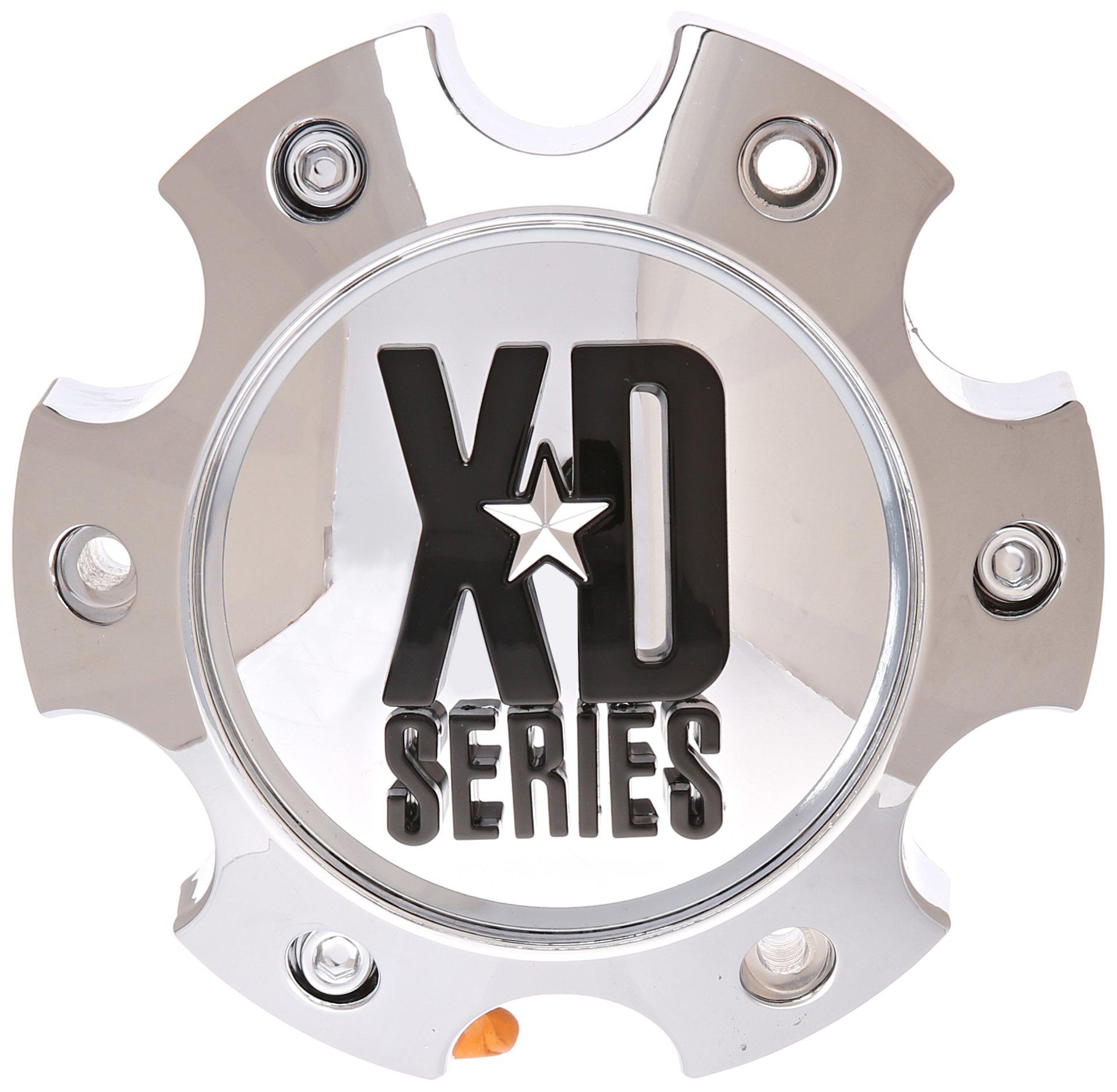 KMC-XD-Series-796-797-798-Chrome-6-Lug-Wheel-Rim-Center-Cap-1079L145