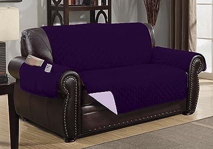 Strange Amazon Com Sofa Guard Deluxe Reversible Loveseat Furniture Bralicious Painted Fabric Chair Ideas Braliciousco