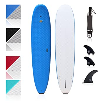 SBBC 8'8 Heritage Soft Top Longboard Surfboard