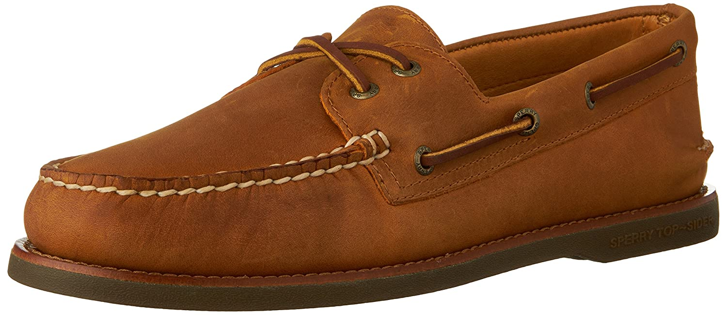 Sperry Top-Sider Gold Cup Authentic Original Boat Shoe  9.5 D(M) US|Tan/Gum
