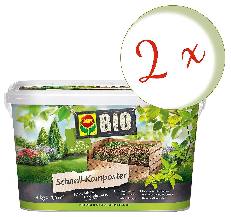 Oleander Hofmeister® Bajo Set: 2 x Compo bio - Compostador ...