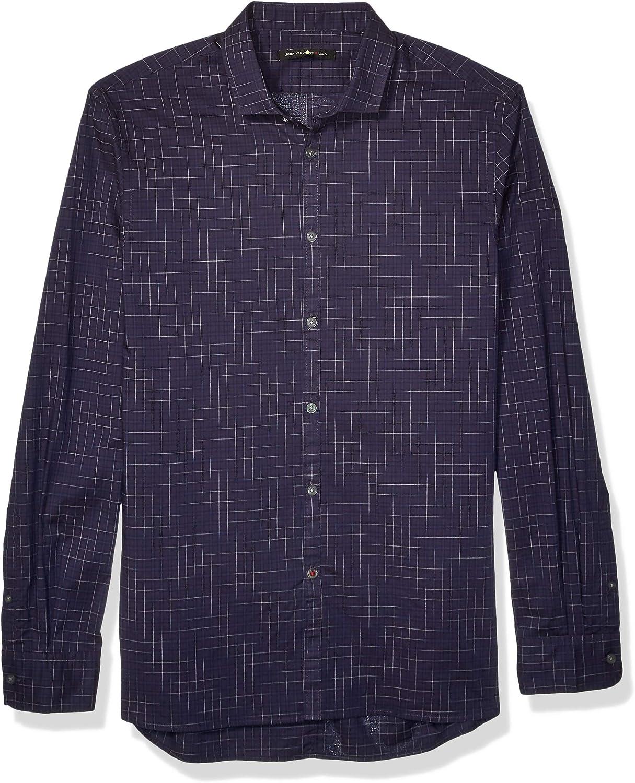John Varvatos Star USA Men's Clayton Ls Shirt