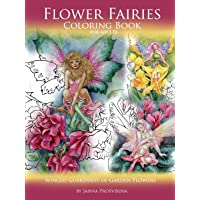Flower Fairies: Coloring Book for Adults: Winged Guardians of Garden Flowers