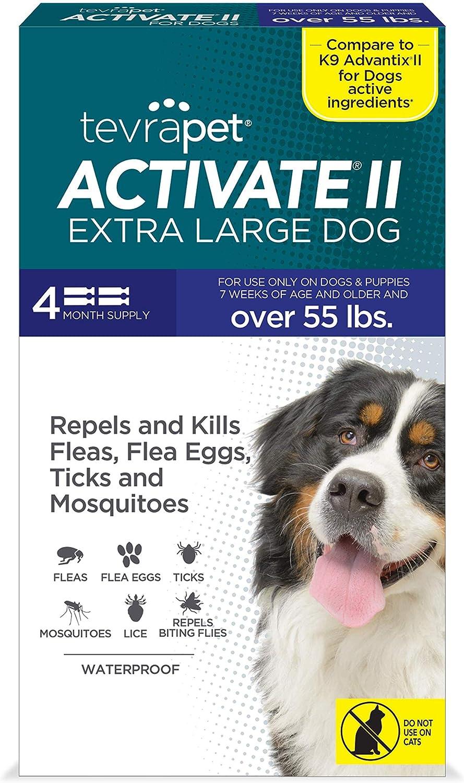 TevraPet Activate II Prevención de pulgas y garrapatas para ...