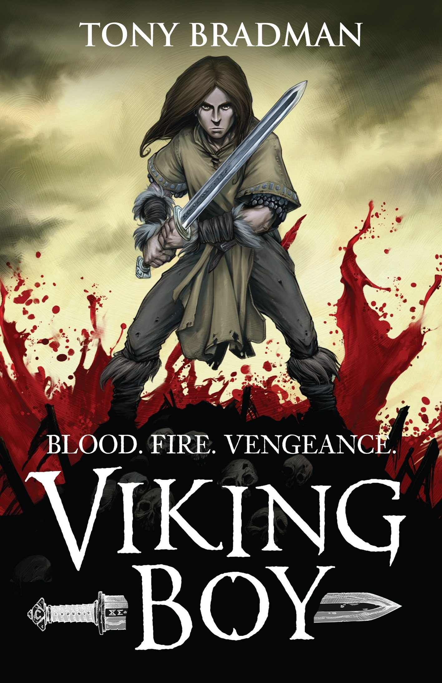 Viking Boy : Bradman, Tony, Goux, Pierre-Denis: Amazon.co.uk: Books