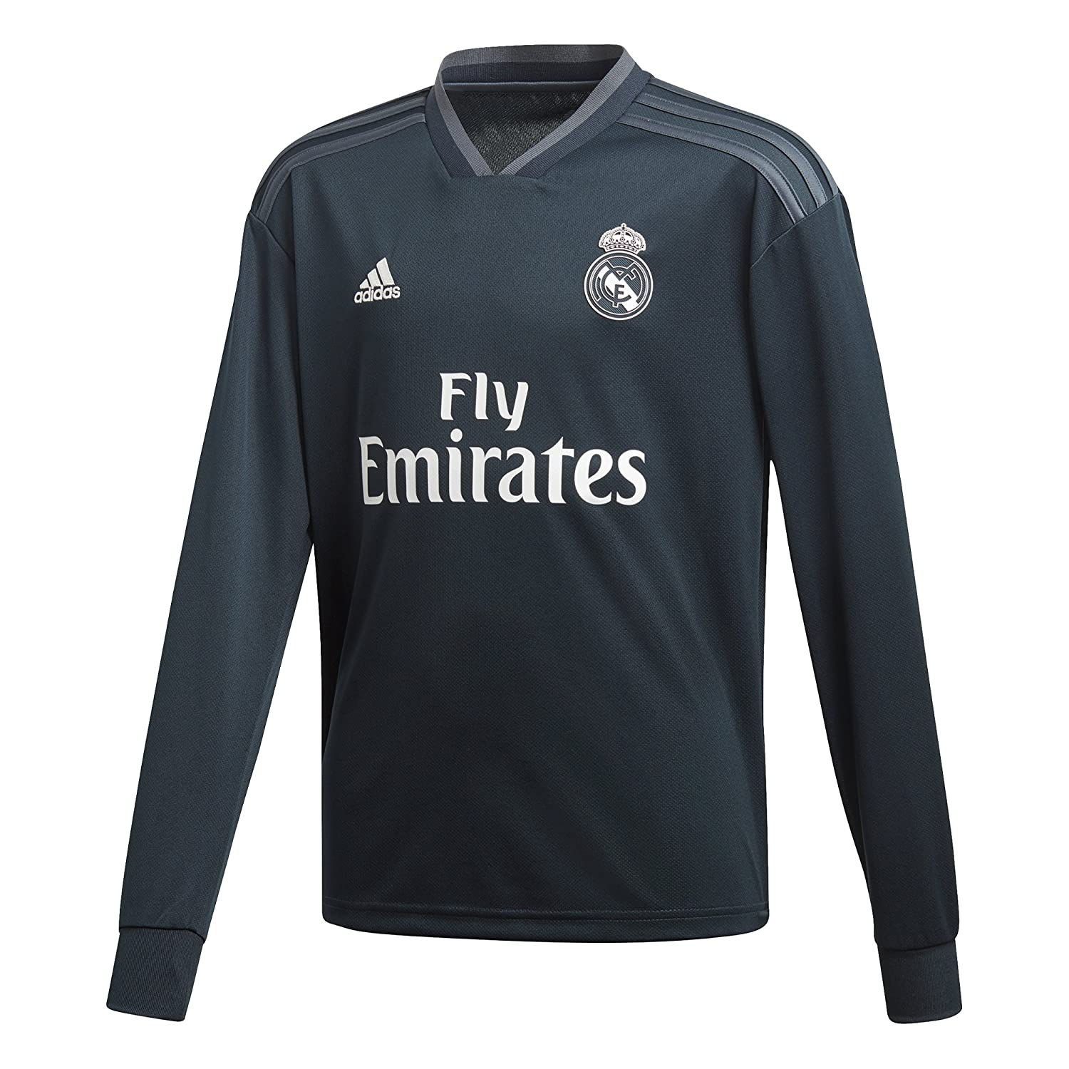 Adidas 2018-2019 Real Madrid Away Long Sleeve Shirt (Kids)