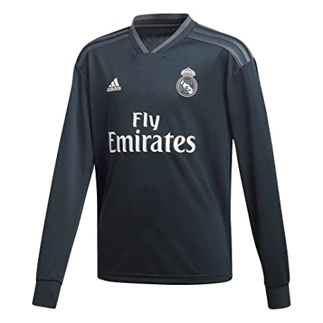 Amazon.com   adidas 2018-2019 Real Madrid Away Long Sleeve Football ... e50861b19